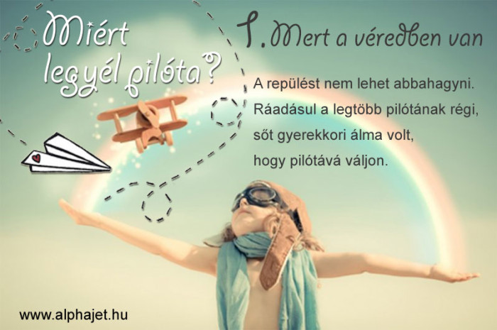 Események - Miért legyél pilóta?