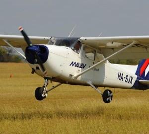 Próba repülőgép-vezetés
